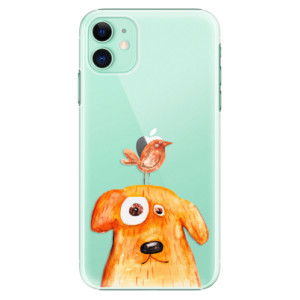 Plastové pouzdro iSaprio - Dog And Bird na mobil Apple iPhone 11