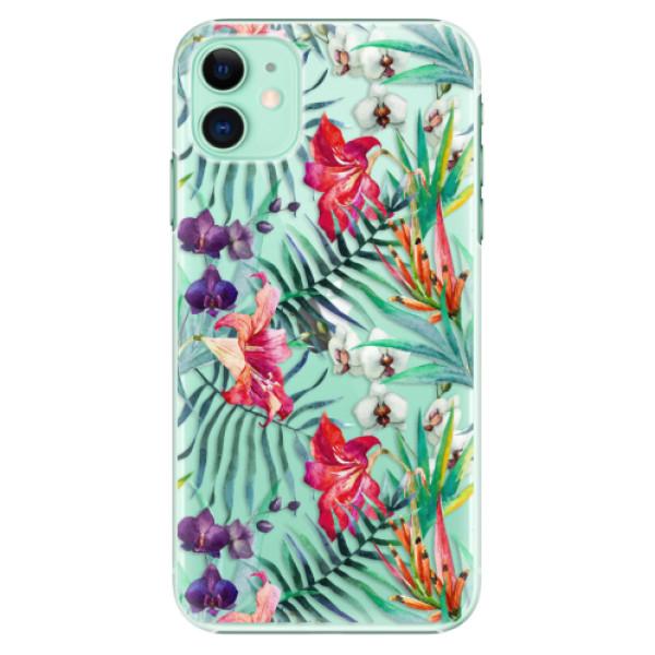 Plastové pouzdro iSaprio - Flower Pattern 03 na mobil Apple iPhone 11