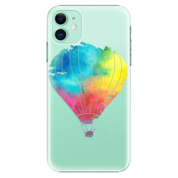 Plastové pouzdro iSaprio - Flying Baloon 01 na mobil Apple iPhone 11