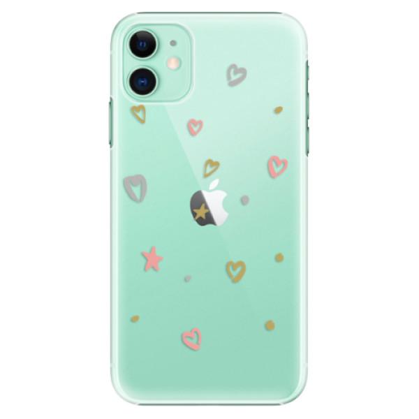 Plastové pouzdro iSaprio - Lovely Pattern na mobil Apple iPhone 11