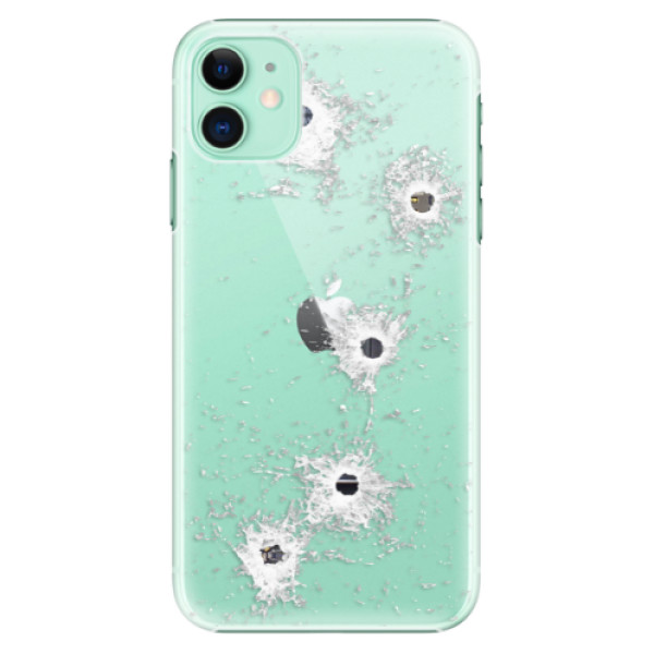 Plastové pouzdro iSaprio - Gunshots na mobil Apple iPhone 11