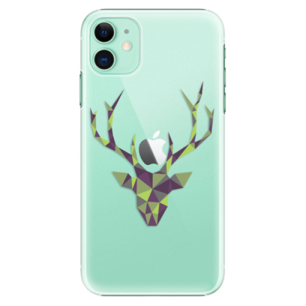 Plastové pouzdro iSaprio - Deer Green na mobil Apple iPhone 11