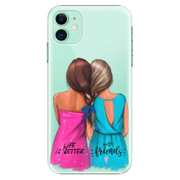 Plastové pouzdro iSaprio - Best Friends na mobil Apple iPhone 11
