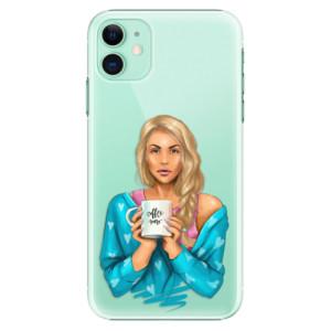 Plastové pouzdro iSaprio - Coffee Now Blond na mobil Apple iPhone 11