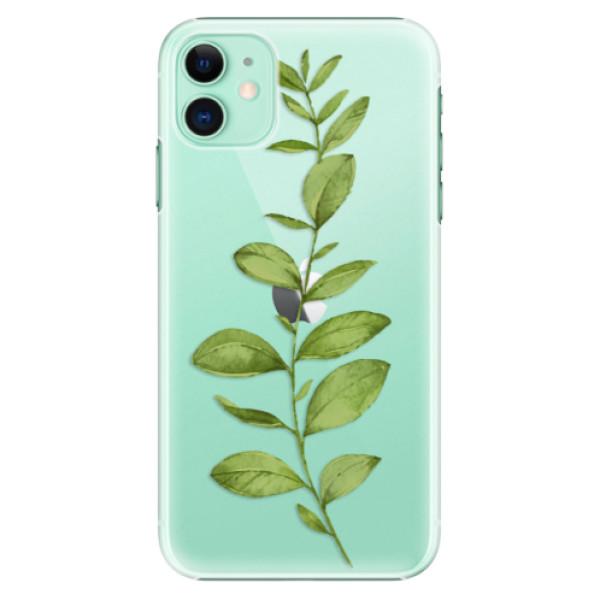 Plastové pouzdro iSaprio - Green Plant 01 na mobil Apple iPhone 11