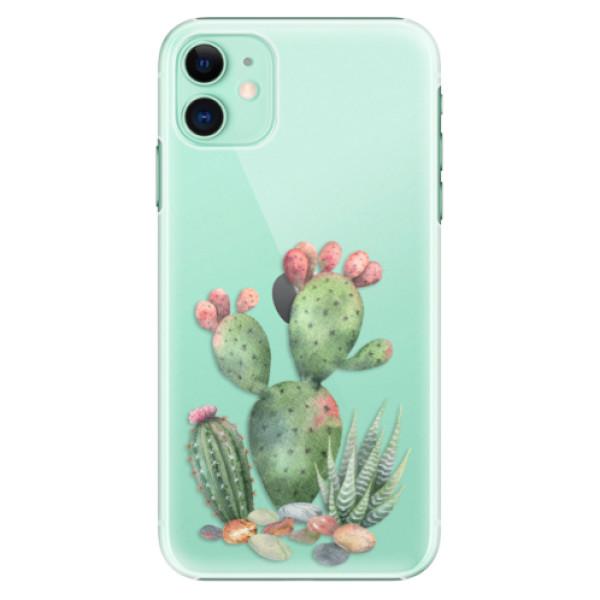 Plastové pouzdro iSaprio - Cacti 01 na mobil Apple iPhone 11
