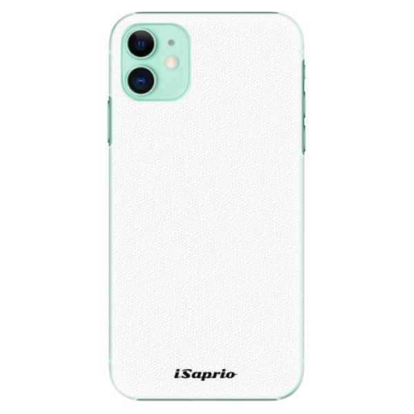 Plastové pouzdro iSaprio - 4Pure bílé na mobil Apple iPhone 11