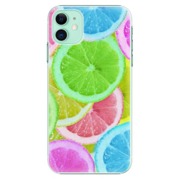 Plastové pouzdro iSaprio - Lemon 02 na mobil Apple iPhone 11