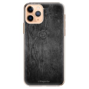 Plastové pouzdro iSaprio - black Wood 13 na mobil Apple iPhone 11 Pro