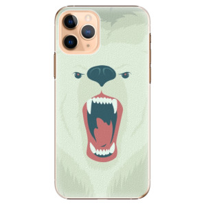 Plastové pouzdro iSaprio - Angry Bear na mobil Apple iPhone 11 Pro