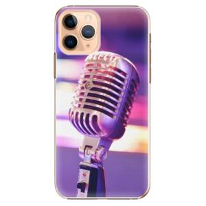Plastové pouzdro iSaprio - Vintage Microphone na mobil Apple iPhone 11 Pro