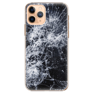Plastové pouzdro iSaprio - Cracked na mobil Apple iPhone 11 Pro