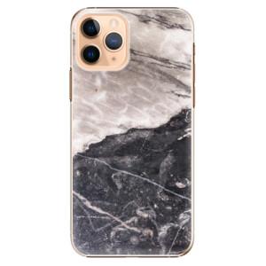 Plastové pouzdro iSaprio - BW Marble na mobil Apple iPhone 11 Pro