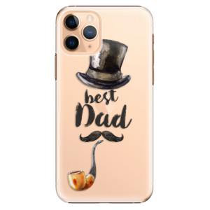 Plastové pouzdro iSaprio - Best Dad na mobil Apple iPhone 11 Pro