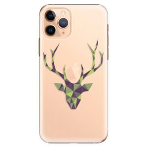 Plastové pouzdro iSaprio - Deer Green na mobil Apple iPhone 11 Pro
