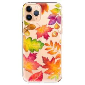 Plastové pouzdro iSaprio - Autumn Leaves 01 na mobil Apple iPhone 11 Pro