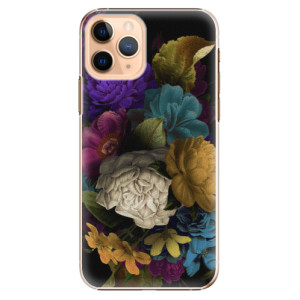 Plastové pouzdro iSaprio - Dark Flowers na mobil Apple iPhone 11 Pro