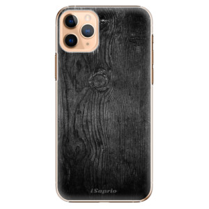Plastové pouzdro iSaprio - black Wood 13 na mobil Apple iPhone 11 Pro Max