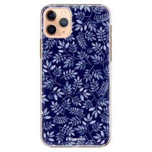 Plastové pouzdro iSaprio - Blue Leaves 05 na mobil Apple iPhone 11 Pro Max