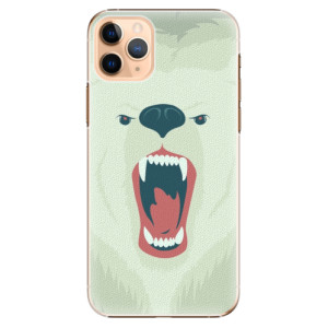 Plastové pouzdro iSaprio - Angry Bear na mobil Apple iPhone 11 Pro Max