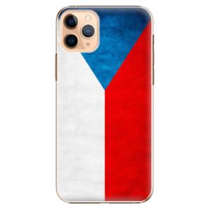 Plastové pouzdro iSaprio - Czech Flag na mobil Apple iPhone 11 Pro Max