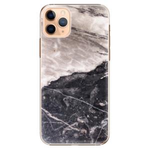 Plastové pouzdro iSaprio - BW Marble na mobil Apple iPhone 11 Pro Max