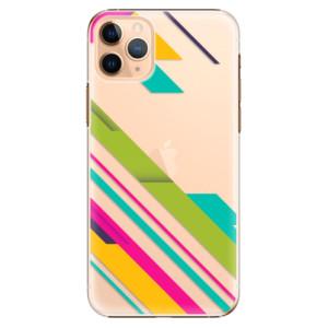 Plastové pouzdro iSaprio - Color Stripes 03 na mobil Apple iPhone 11 Pro Max