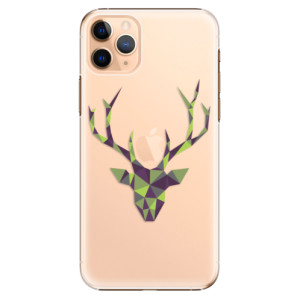 Plastové pouzdro iSaprio - Deer Green na mobil Apple iPhone 11 Pro Max