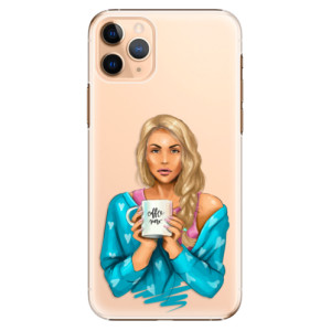 Plastové pouzdro iSaprio - Coffee Now Blond na mobil Apple iPhone 11 Pro Max