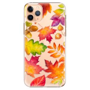 Plastové pouzdro iSaprio - Autumn Leaves 01 na mobil Apple iPhone 11 Pro Max