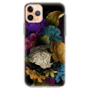 Plastové pouzdro iSaprio - Dark Flowers na mobil Apple iPhone 11 Pro Max