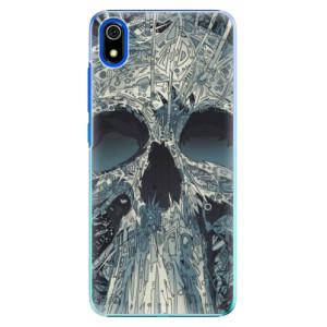 Plastové pouzdro iSaprio - Abstract Skull na mobil Xiaomi Redmi 7A