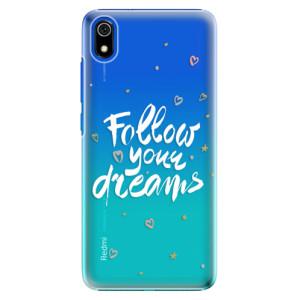 Plastové pouzdro iSaprio - Follow Your Dreams white na mobil Xiaomi Redmi 7A