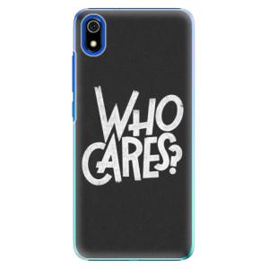 Plastové pouzdro iSaprio - Who Cares na mobil Xiaomi Redmi 7A