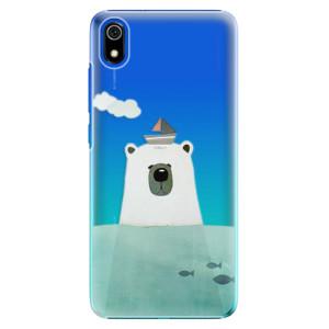 Plastové pouzdro iSaprio - Bear With Boat na mobil Xiaomi Redmi 7A
