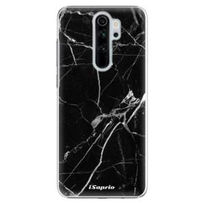 Plastové pouzdro iSaprio - black Marble 18 na mobil Xiaomi Redmi Note 8 Pro