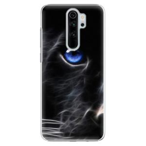 Plastové pouzdro iSaprio - black Puma na mobil Xiaomi Redmi Note 8 Pro