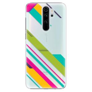 Plastové pouzdro iSaprio - Color Stripes 03 na mobil Xiaomi Redmi Note 8 Pro
