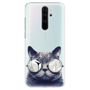 Plastové pouzdro iSaprio - Crazy Cat 01 na mobil Xiaomi Redmi Note 8 Pro