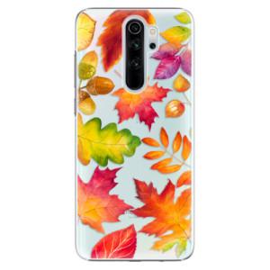 Plastové pouzdro iSaprio - Autumn Leaves 01 na mobil Xiaomi Redmi Note 8 Pro