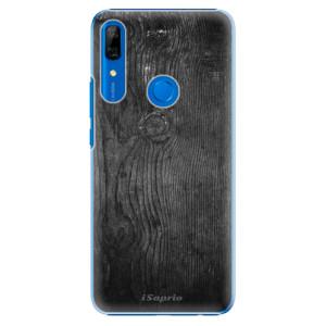 Plastové pouzdro iSaprio - black Wood 13 na mobil Huawei P Smart Z