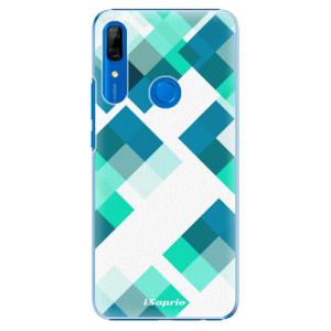 Plastové pouzdro iSaprio - Abstract Squares 11 na mobil Huawei P Smart Z