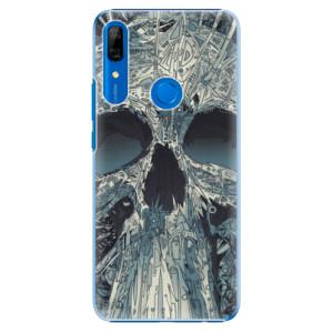 Plastové pouzdro iSaprio - Abstract Skull na mobil Huawei P Smart Z