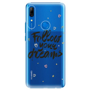 Plastové pouzdro iSaprio - Follow Your Dreams black na mobil Huawei P Smart Z