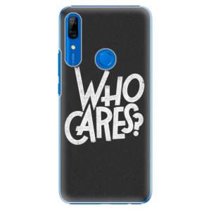 Plastové pouzdro iSaprio - Who Cares na mobil Huawei P Smart Z