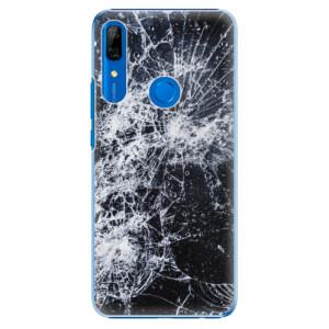 Plastové pouzdro iSaprio - Cracked na mobil Huawei P Smart Z