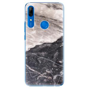 Plastové pouzdro iSaprio - BW Marble na mobil Huawei P Smart Z