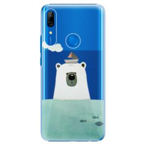 Plastové pouzdro iSaprio - Bear With Boat na mobil Huawei P Smart Z