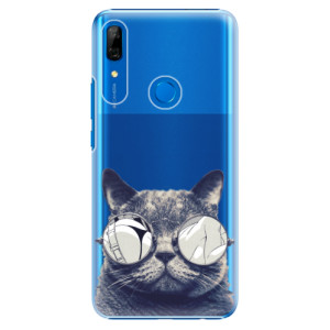 Plastové pouzdro iSaprio - Crazy Cat 01 na mobil Huawei P Smart Z