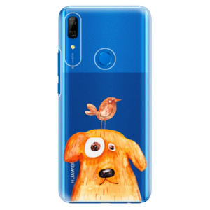 Plastové pouzdro iSaprio - Dog And Bird na mobil Huawei P Smart Z